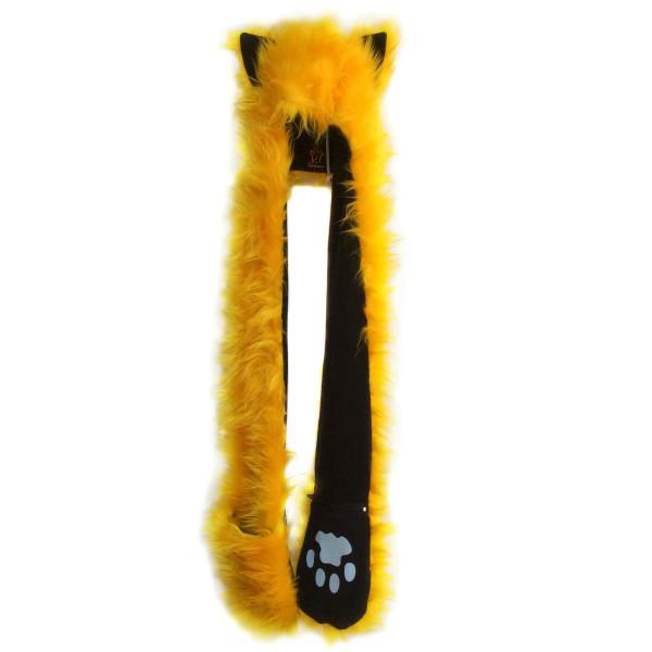 Кошка длинная_ф-55_желтый