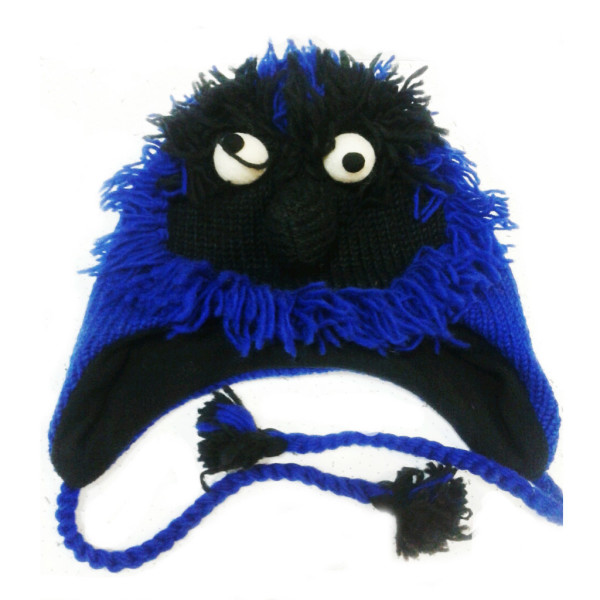 Шапка Синяя борода (Шерсть)