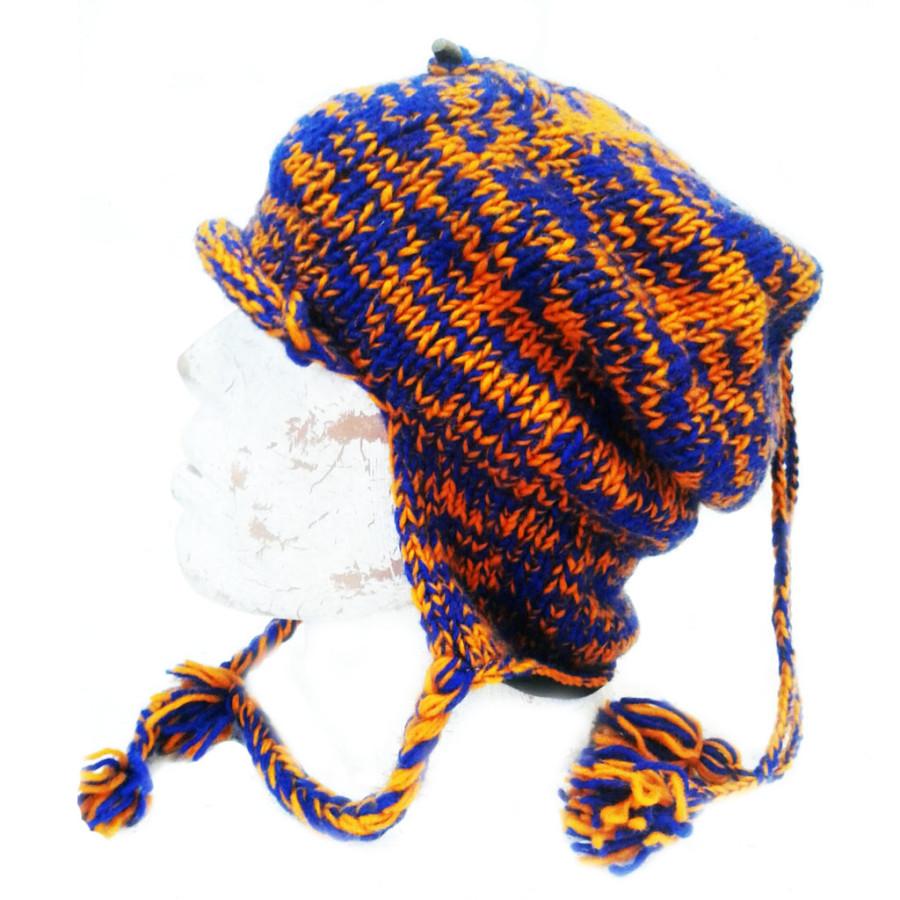 шапка с карманом шерсть