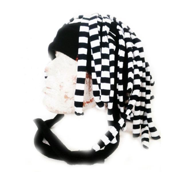 шапка дреды полосатые