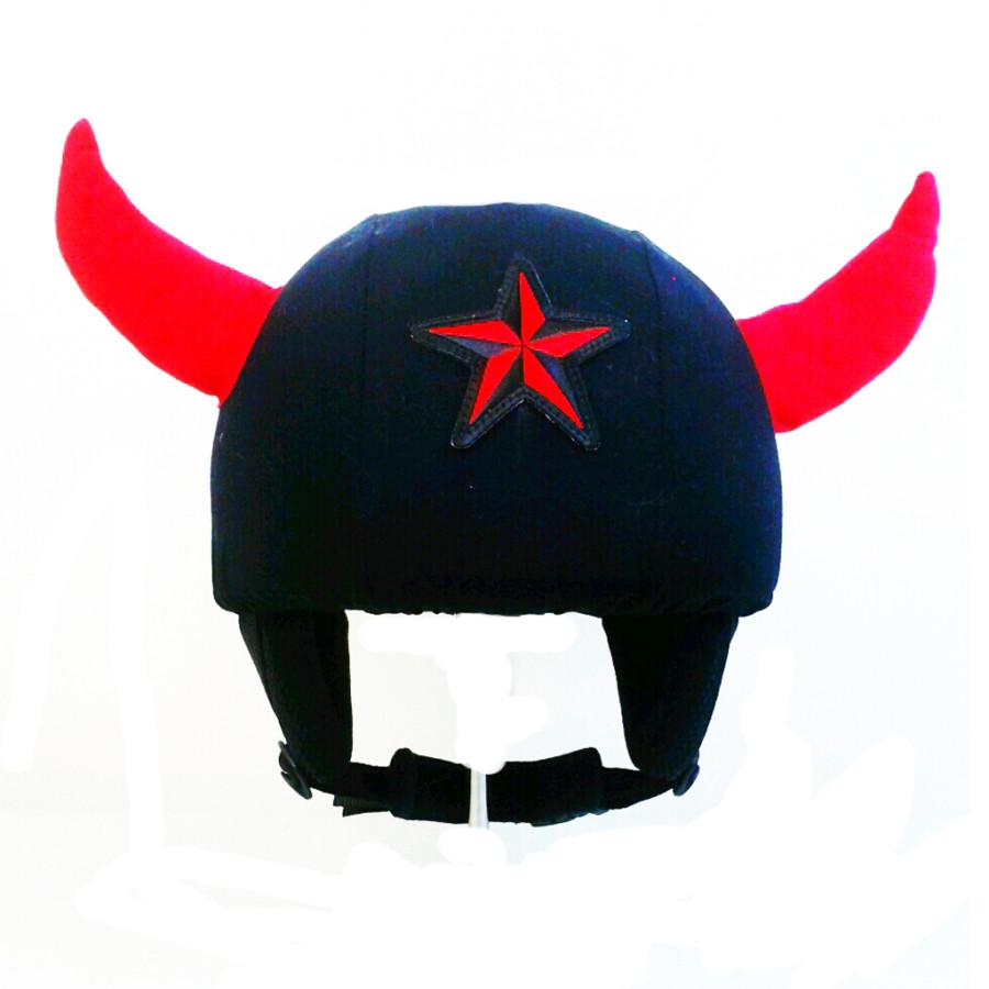 """Чехол для шлема """"Рога"""""""