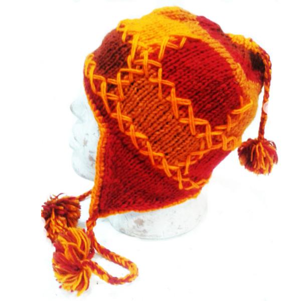 шапка непалка свышивкой шерсть