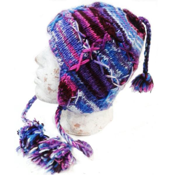 Шапка непалка с вышивкой