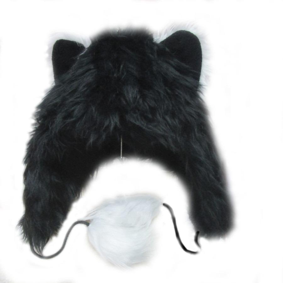 зверошапка Кошка черная купить