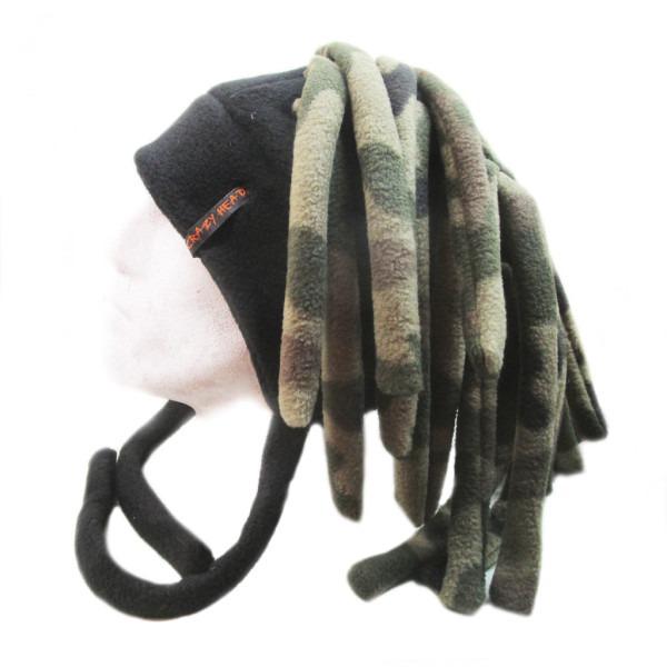шапка дреды смешная шапка