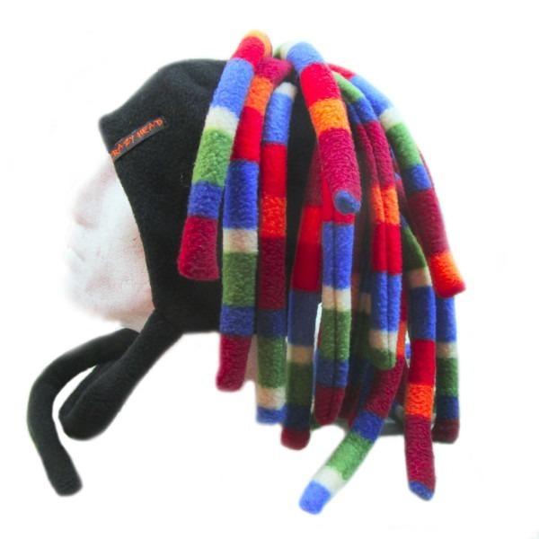 шапка дреды короткие