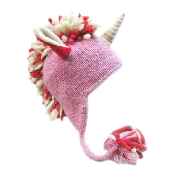 единорог  шапка-звери