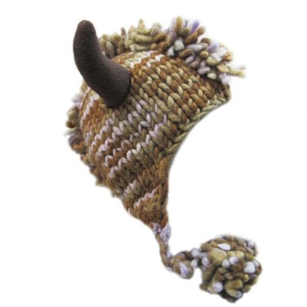 ирокез с рогами объемный